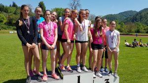Uspehi naših atletov na področnem atletskem tekmovanju