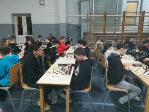 Šahovska ekipa na državnem prvenstvu