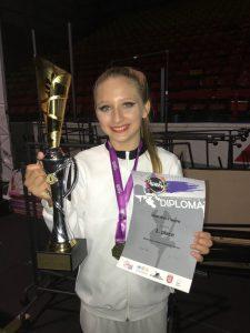 Tina Kecelj zlata na svetovnem prvenstvu na Češkem